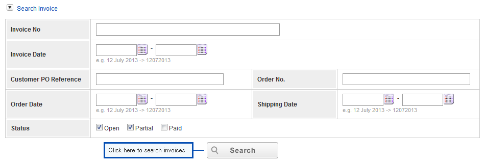 If You Cannot Find Invoices: Please Click On   How To Fill Out Invoice